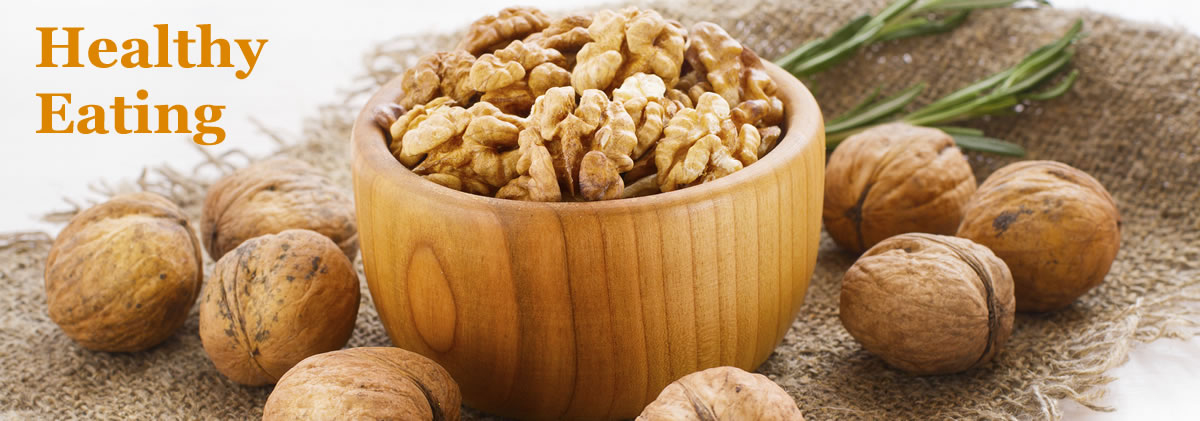 Bowl of healthy looking New Zealand walnuts