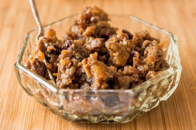 New Zealand Walnut Relish