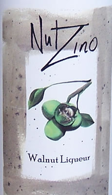 Nut Zino Liqueur Label